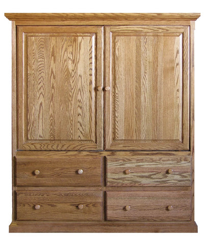 Forest Designs Traditional TV Armoire (57W x 66H x 18D)