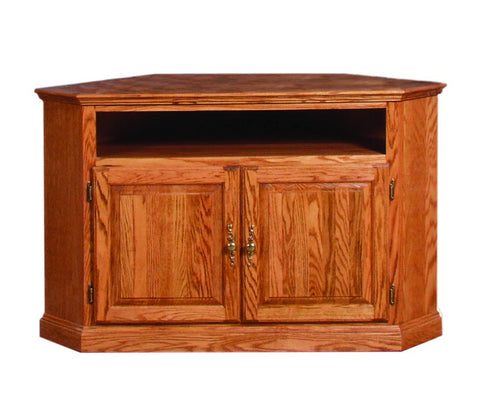 Forest Designs Traditional Large Corner TV Stand: 63W x 32H x 32D