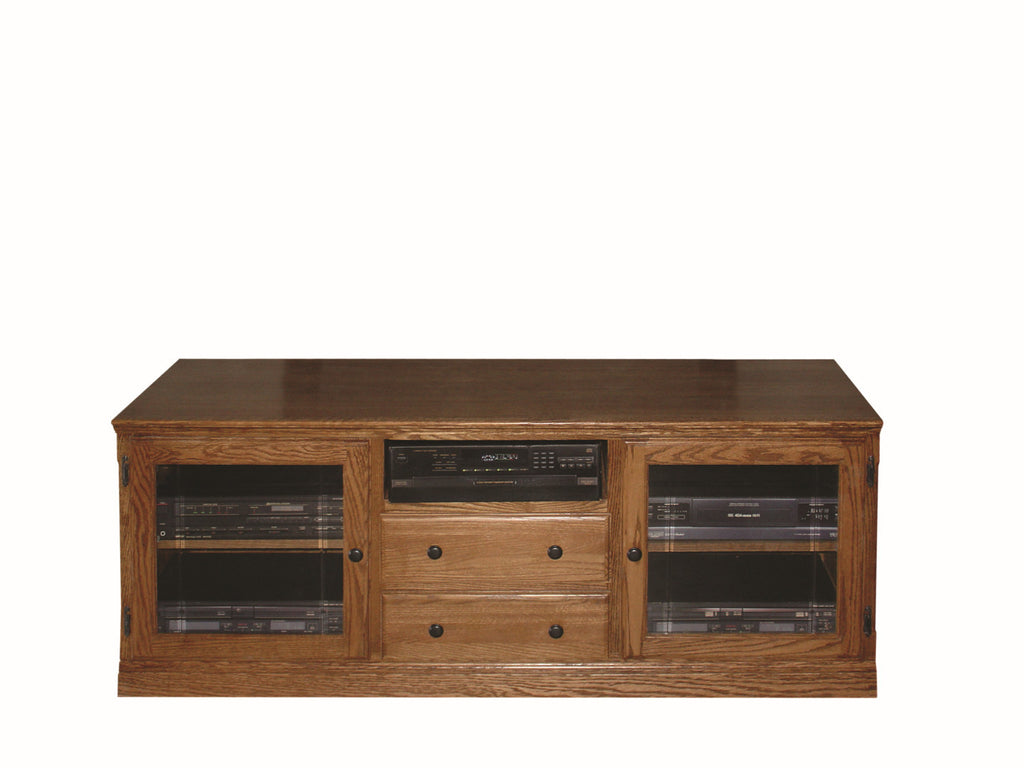 Forest Designs Traditional TV Stand with Drawers: 62W x 24H x 21D