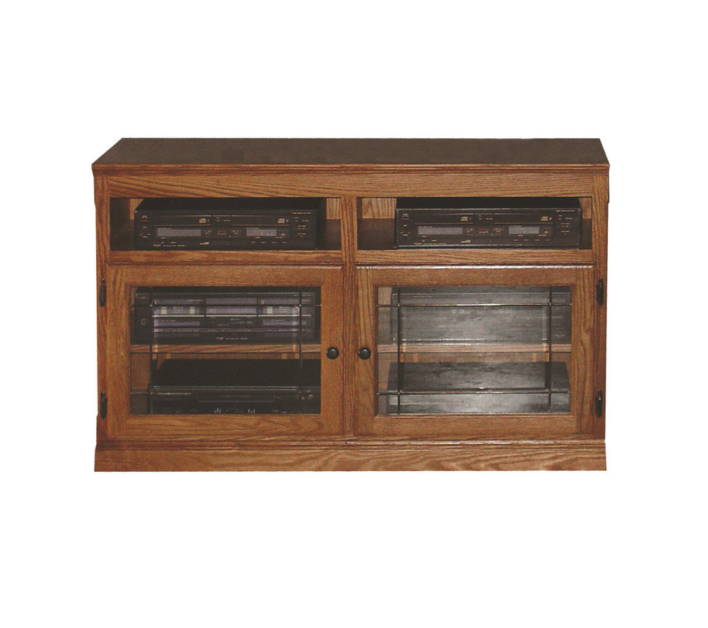 Forest Designs Traditional TV Stand with Black Hardware: 42W x 30H x 18D