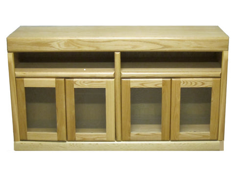Forest Designs Bullnose TV Stand: 66W x 30H x 18D