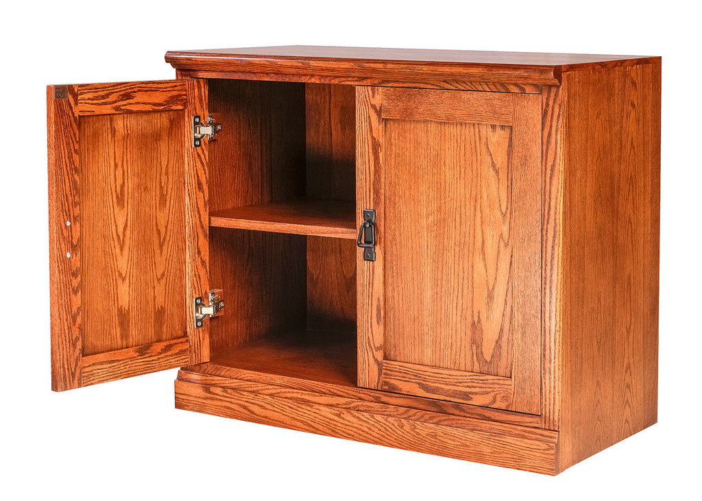 Forest Designs Mission Oak TV Cart:33W x 28H