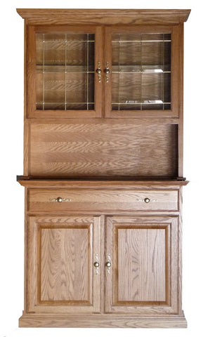 Forest Designs Traditional Buffet & Hutch (42W)