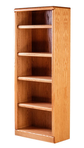 Forest Designs Bullnose Bookcase: 24W x 13D x Height of Choice