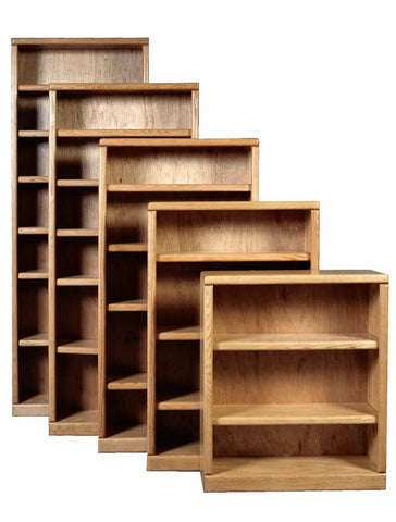Forest Designs Bullnose Bookcase: 36W X 13D Choose Your Height (One Bookcase)