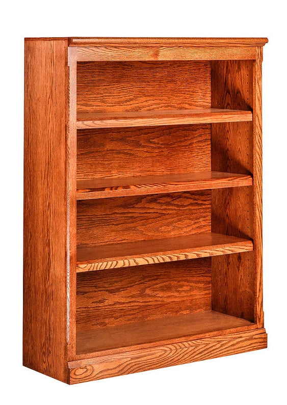 Forest Designs Mission Oak Bookcase (36W x 13D x Height of Choice)