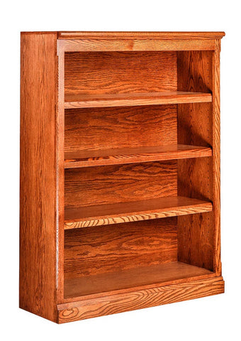 Forest Designs Mission Oak Bookcase: 36W x 13D Choose Your Height