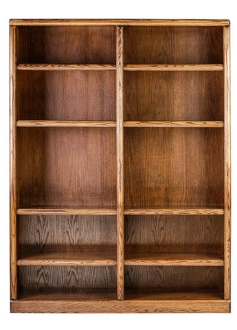 Forest Designs Bullnose Bookcase (48W x 13D x Height of Choice)