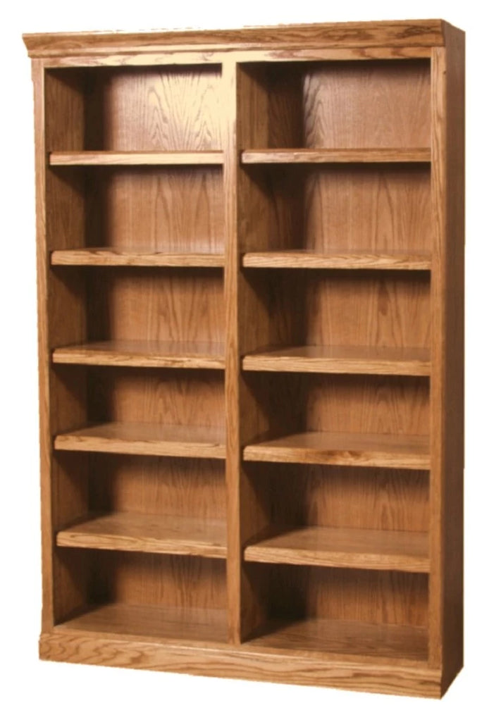 Forest Designs Mission Bookcase: 48W x 13D x Height of Choice