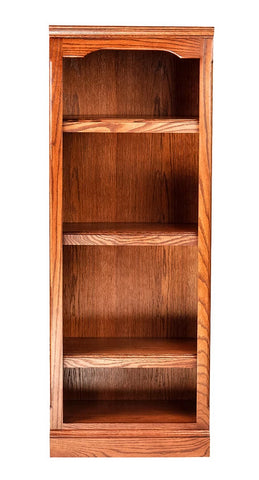 Forest Designs Traditional Oak Bookcase: 18W x 13D Choose Your Height