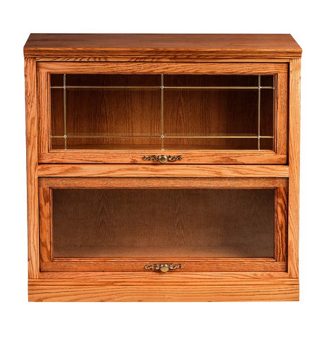 Forest Designs Traditional Lawyer Bookcase (36W x 13D x Height of Choice)