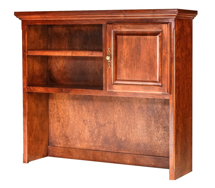 Forest Designs Traditional Alder Hutch for 1020/1026 (48W x 42H x 13D)