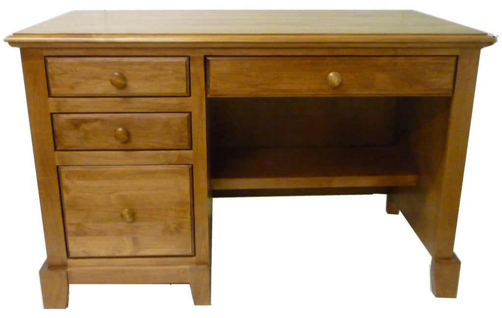 Forest Designs Shaker Desk: 48W X 30H X 24D with Pencil Drawer