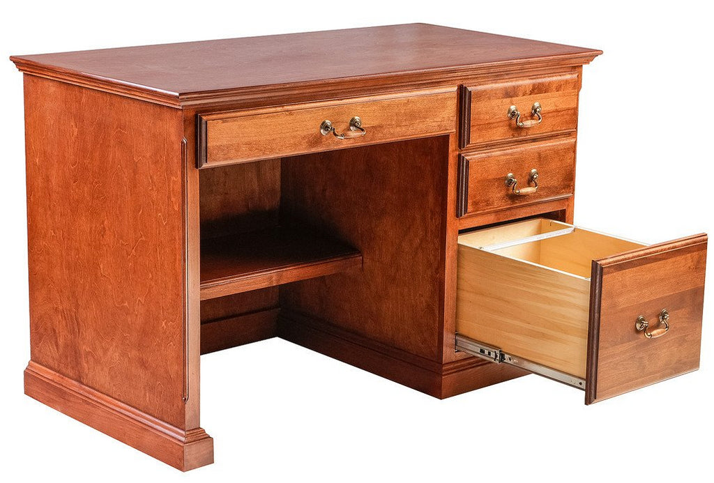 Forest Designs Traditional Alder Desk w/Pencil Drawer (48W x 30H x 24D)