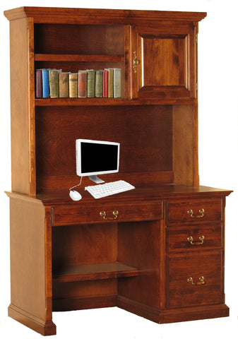 Forest Designs Traditional Hutch for 1020: 48w x 42H x 13D (No Desk)