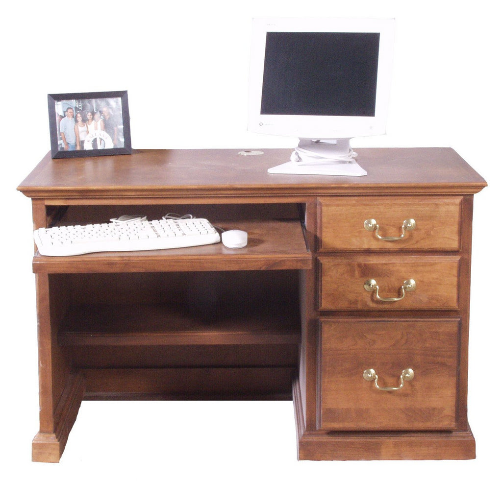 Forest Designs Traditional Desk w/Keyboard Pullout (48W x 30H x 24D)