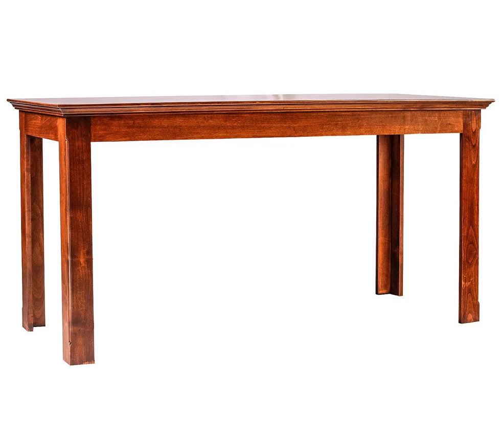 Forest Designs Traditional Alder Writing Table: 42W X 30H X 24D