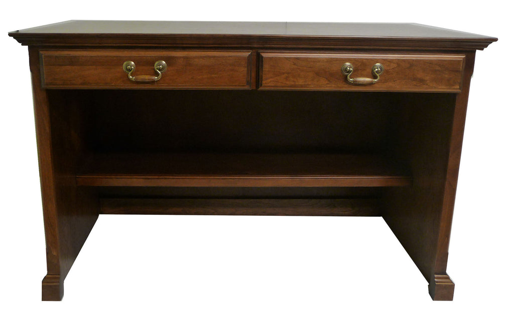 Forest Designs Traditional Alder Laptop/Writing Desk (48W x 30H x 24D)