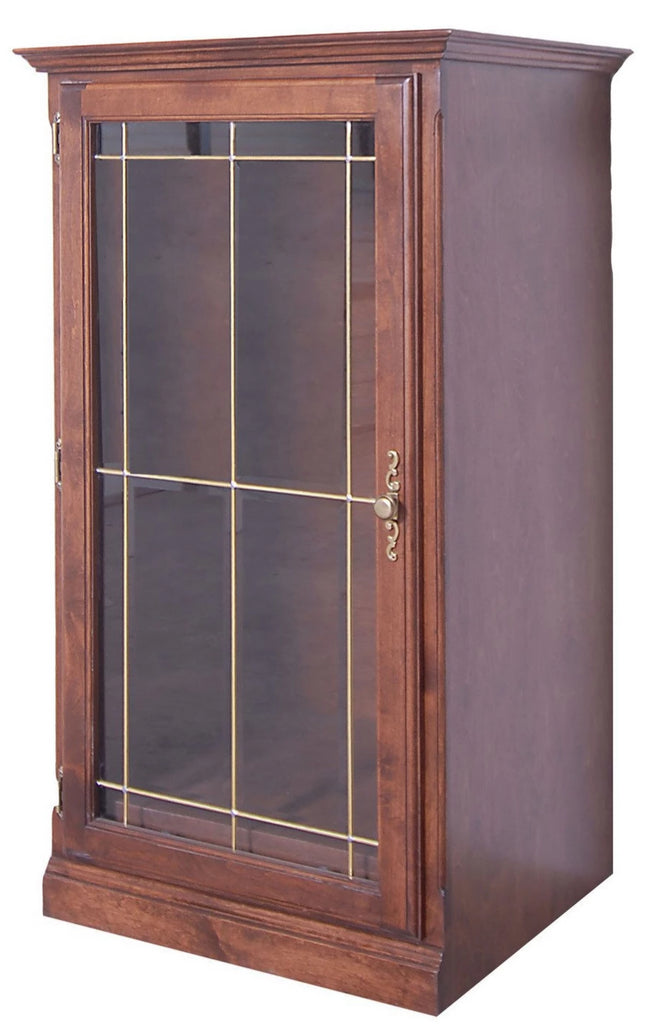 Forest Designs Traditional Audio Tower with Glass Door: 25W x 45H x 21D