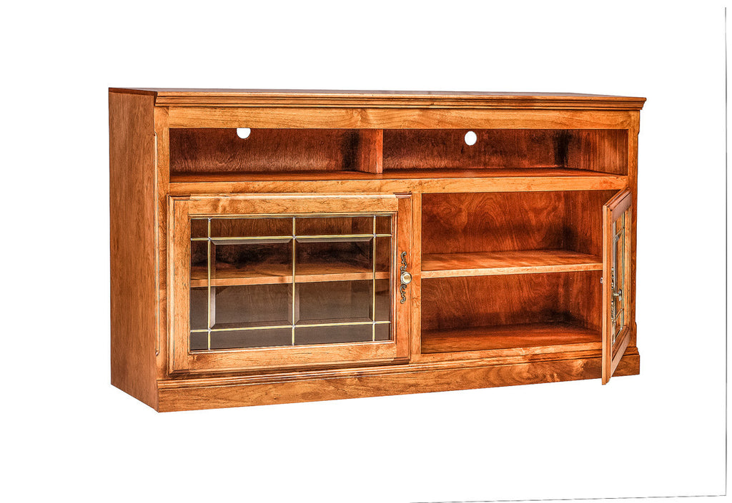 Forest Designs Traditional Alder TV Cart: 54W x 30H