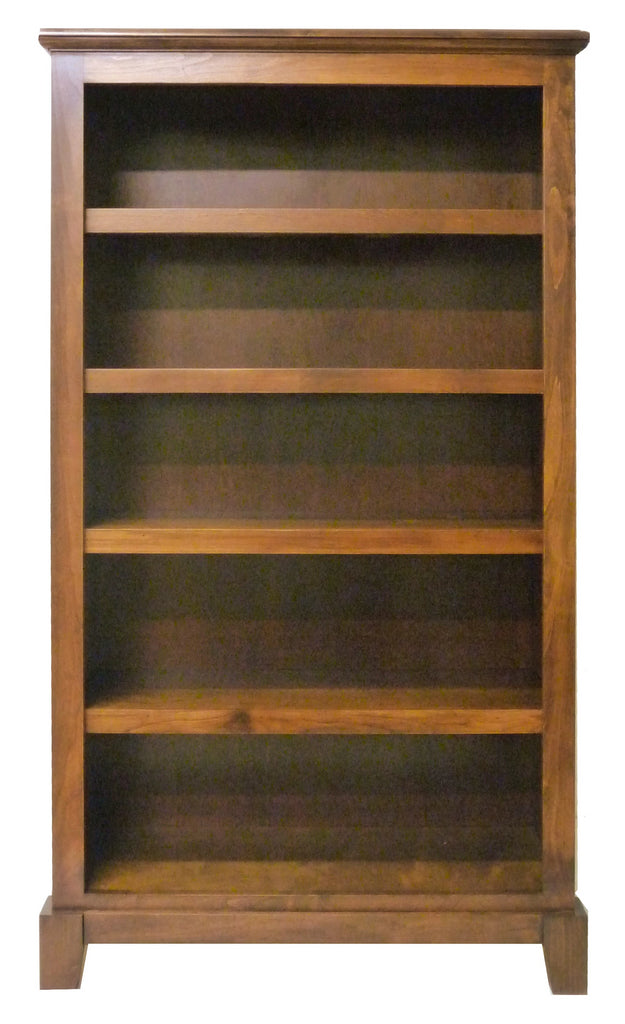 Forest Designs Shaker Bookcase: 30W x 13D x Height of Choice