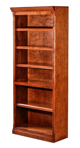 Forest Designs Mission Alder Bookcase: 30W x 13D x Height of Choice