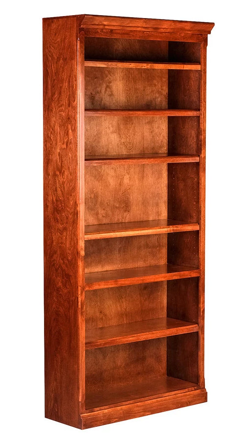 Forest Designs Mission Alder Bookcase: 36W  x 13D x Height of Choice