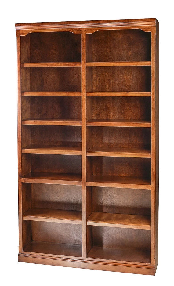 Forest Designs Traditional Alder Bookcase: 48W x 13D Choose Your Height