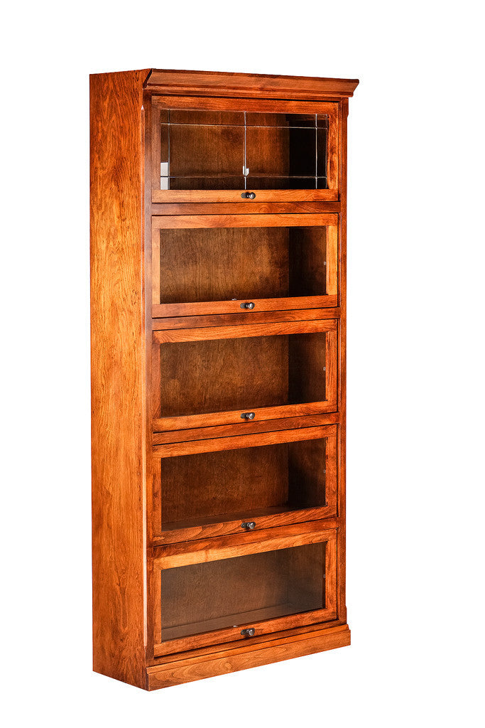Forest Designs Mission Lawyer Bookcase (36W x13D x Height of Choice)