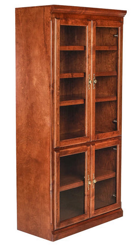 Forest Designs Traditional Alder Bookcase: 36W x 18D Choose Your Height