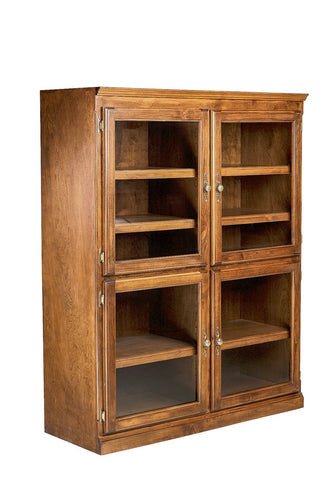 Forest Designs Traditional Alder Lawyer Bookcase: 48W x 18D Choose Your Height