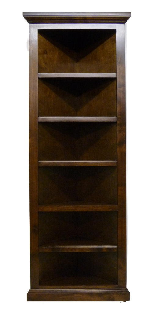 Forest Designs Traditional Corner Bookcase: Choose Your Height (20 X 20 f/Corner)