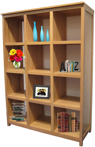 Forest Designs Urban Display Bookcase: 48W x 67H x 17D
