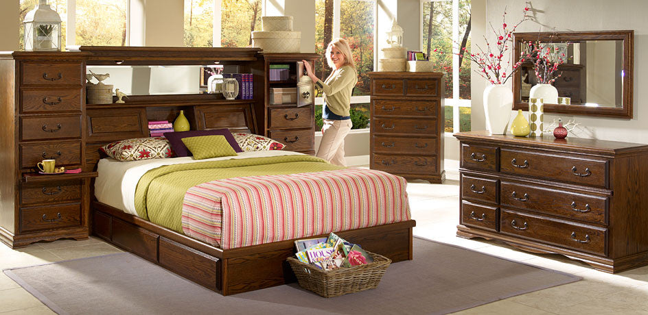 Oak Arizona Bedroom Set