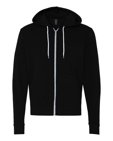 Zip Up Hoodie // Black