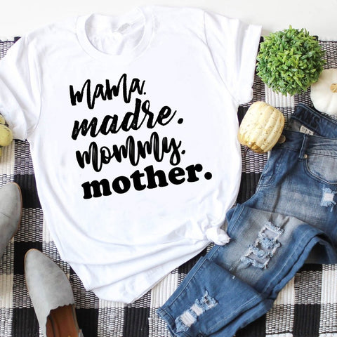 Mama, Madre, Mommy, Mother //  Final Sale // Crew