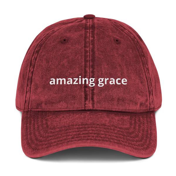 Amazing Grace Dad Hat
