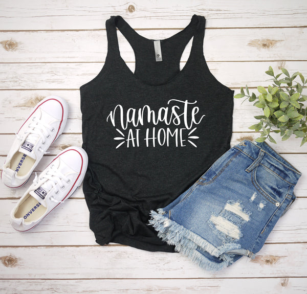 namaste at home charcoal tank www.karlastorey.com