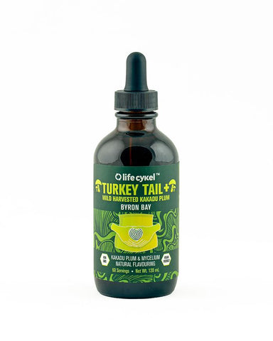 Copy of Turkey Tail Mushroom Liquid Double Extract 120ml