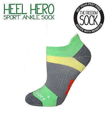 HEEL HERO Unisex Gel Heel Support Sport Sock