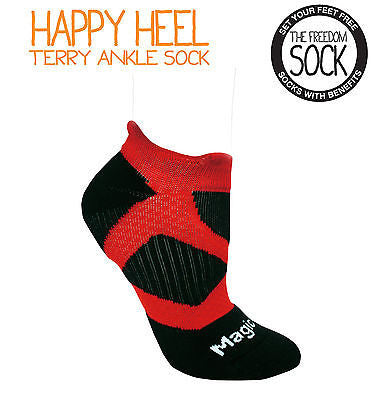 HAPPY HEEL Unisex Heel Support Sport Sock
