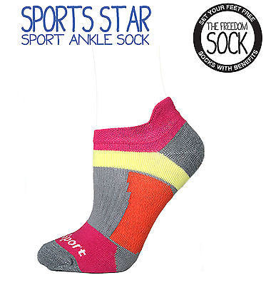 SPORTS STAR Unisex Gel Arch Support Sock