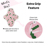 Reusable Fabric Non Toxic Pantyliner Duo