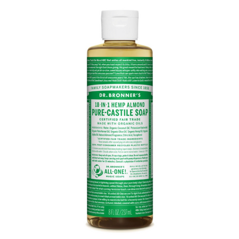 Pure-Castile Liquid Soap Almond 237ml
