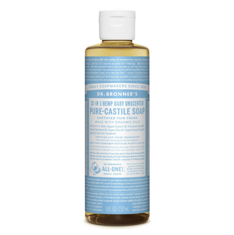 Pure-Castile Liquid Soap Baby Mild 237ml