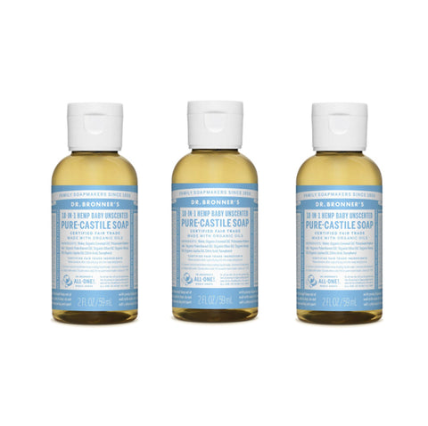 Pure-Castile Liquid Soap Baby Mild 3x59ml
