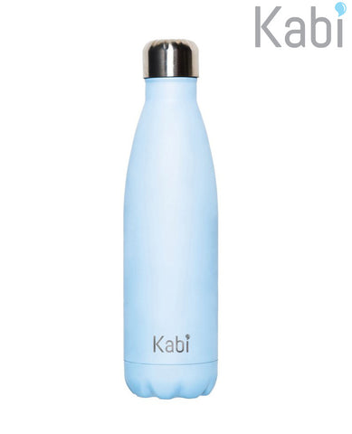 Insulated 500ml Drink Bottle Blueberry Kabi
