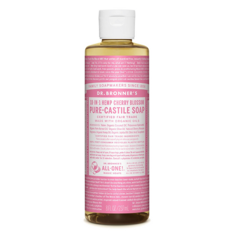 Pure-Castile Liquid Soap Cherry Blossom 237ml