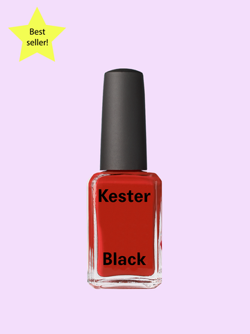 Cruelty Free Nail Polish Cherry Pie (Classic Red)
