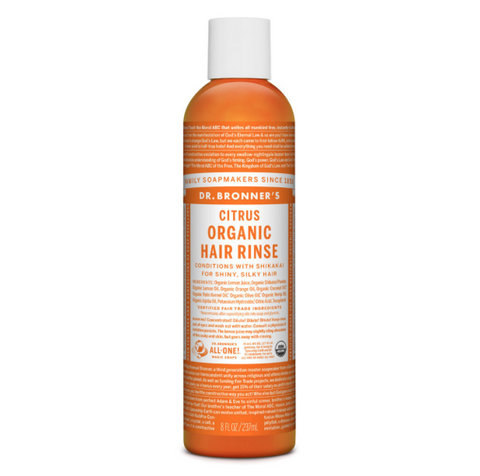 Organic Hair Rinse Conditioner Citrus